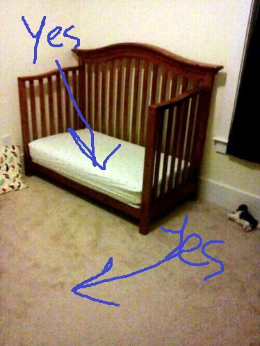 Graham's Empty Bed
